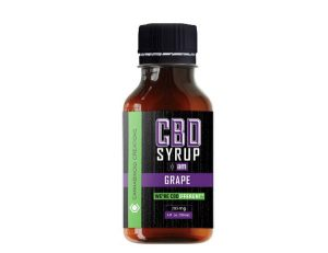 CBD Grape Syrup By Cannabinoid Creations