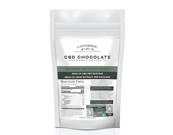 Cannabidiol Life CBD Chocolate