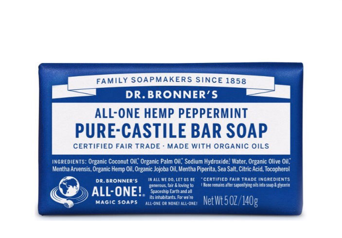 Dr. Bronner's CBD Body Soap
