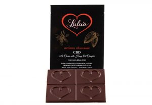 Lulus Hemp Oil CBD Chocolate Bar
