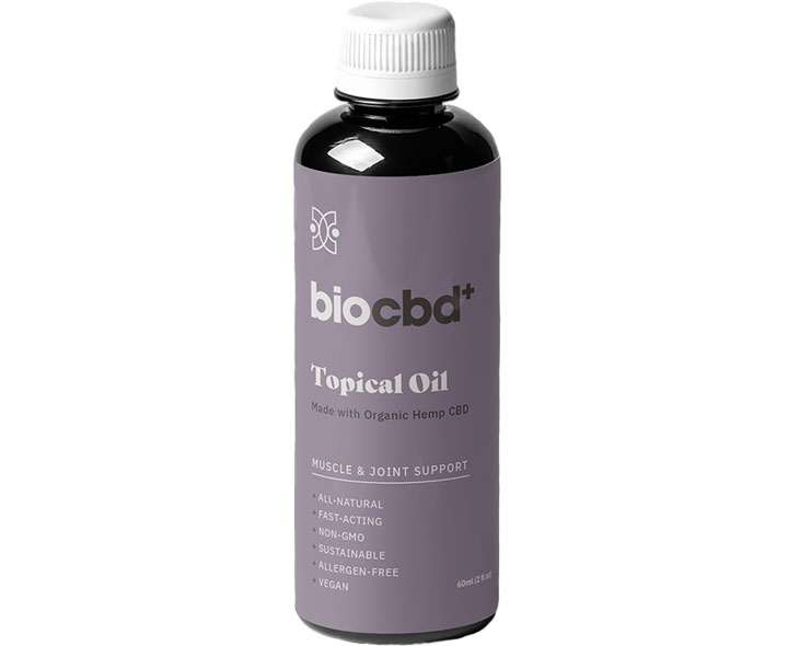 Muscle And Joint Relief Topical Oil By Bio CBD