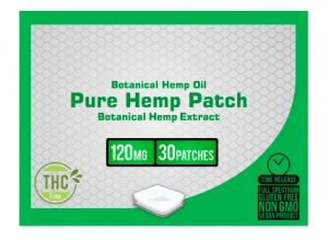 Nano 101 CBD Patches By CBD +