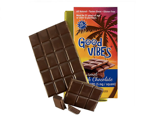 Pure Science Lab Good Vibes Dark Chocolate