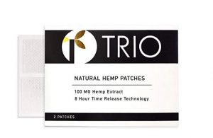 TRIO By Surrender Solutions - Full-Spectrum Hemp Patches